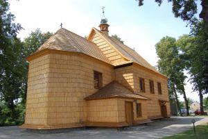 Kościół z odtworzoną bryłą